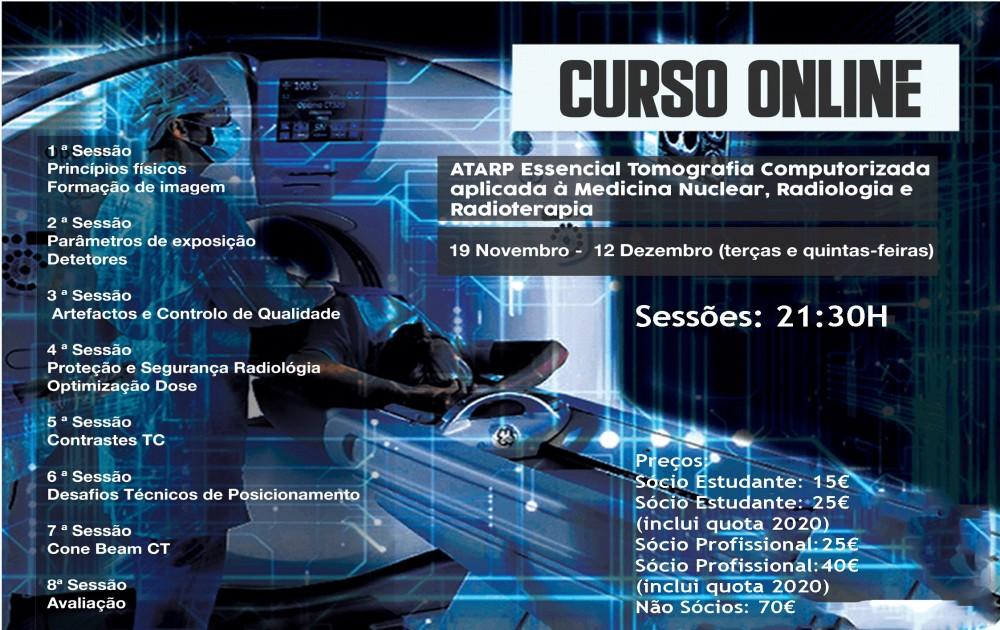 Curso Online - ATARP Essencial Tomografia Computorizada