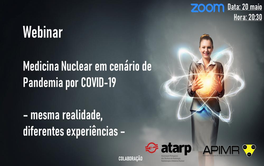 Webinar: Medicina Nuclear em cenário de Pandemia por COVID-19