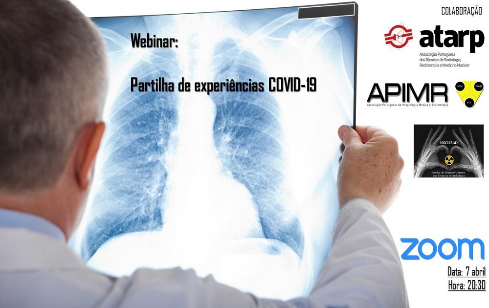 Webinar: Partilha de experiências COVID-19