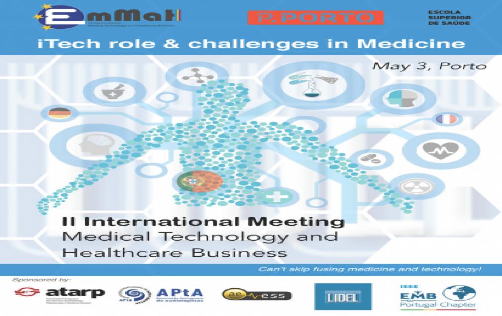 ATARP apoia o II International Meeting - Medical Technology and Healthcare Business no Porto