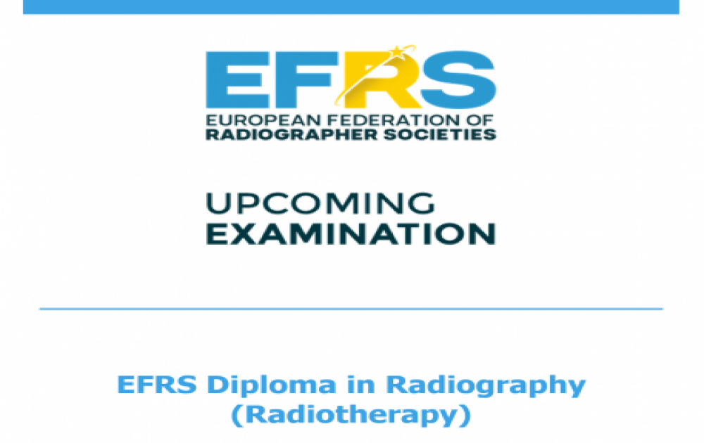 EFRS Diploma in Radiography (Radiotherapy)