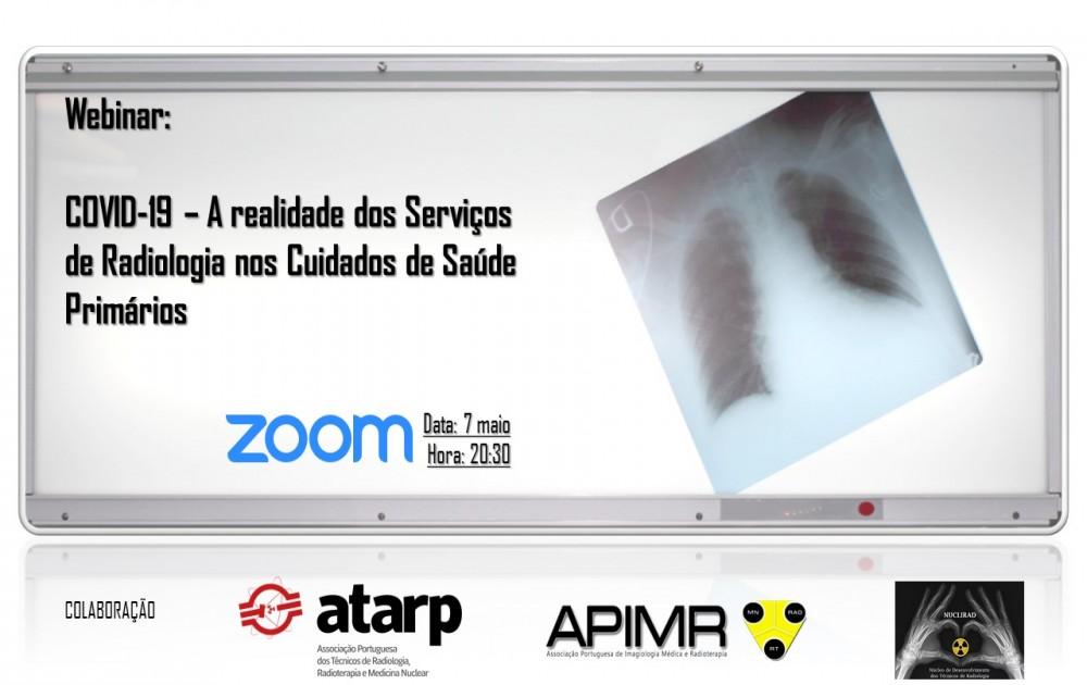 Webinar COVID-19_ A realidade dos Serviços de Radiologia nos Cuidados de Saúde Primários