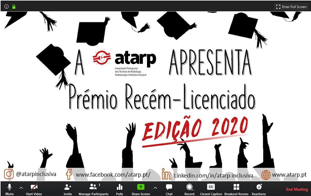 Prémio Recém Licenciado ATARP Edição 2020