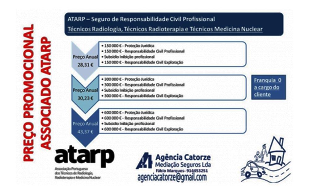 ATARP - Seguro de Responsabilidade Civil Profissional